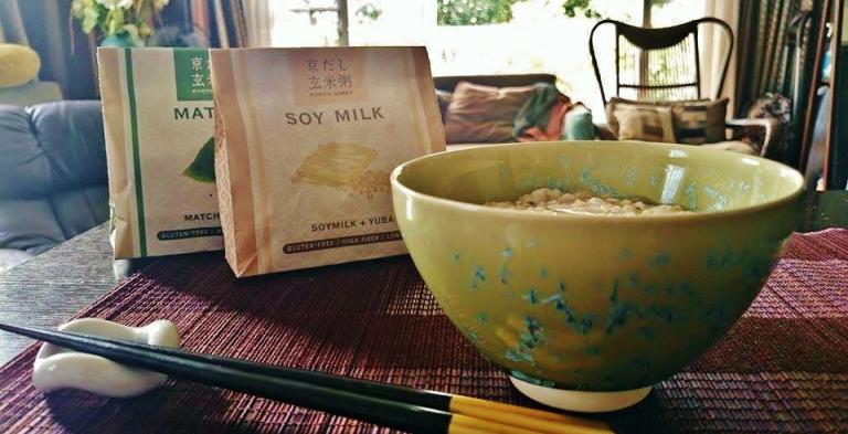 自宅でインスタント玄米粥