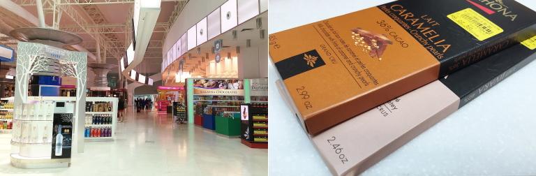マレーシア空港 クアラルンプール 免税店 ヴァローナチョコレート