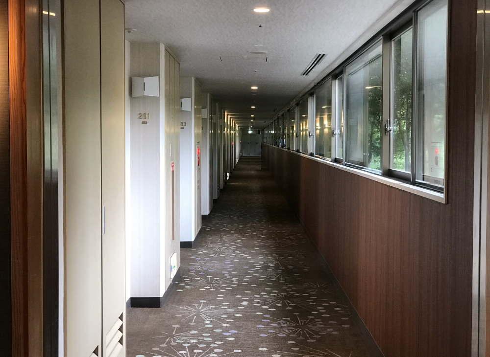 プリンス バケーション クラブ 軽井沢浅間の廊下