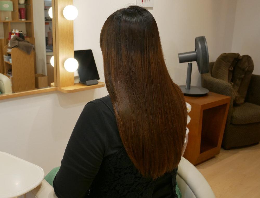 美髪サロン アフター