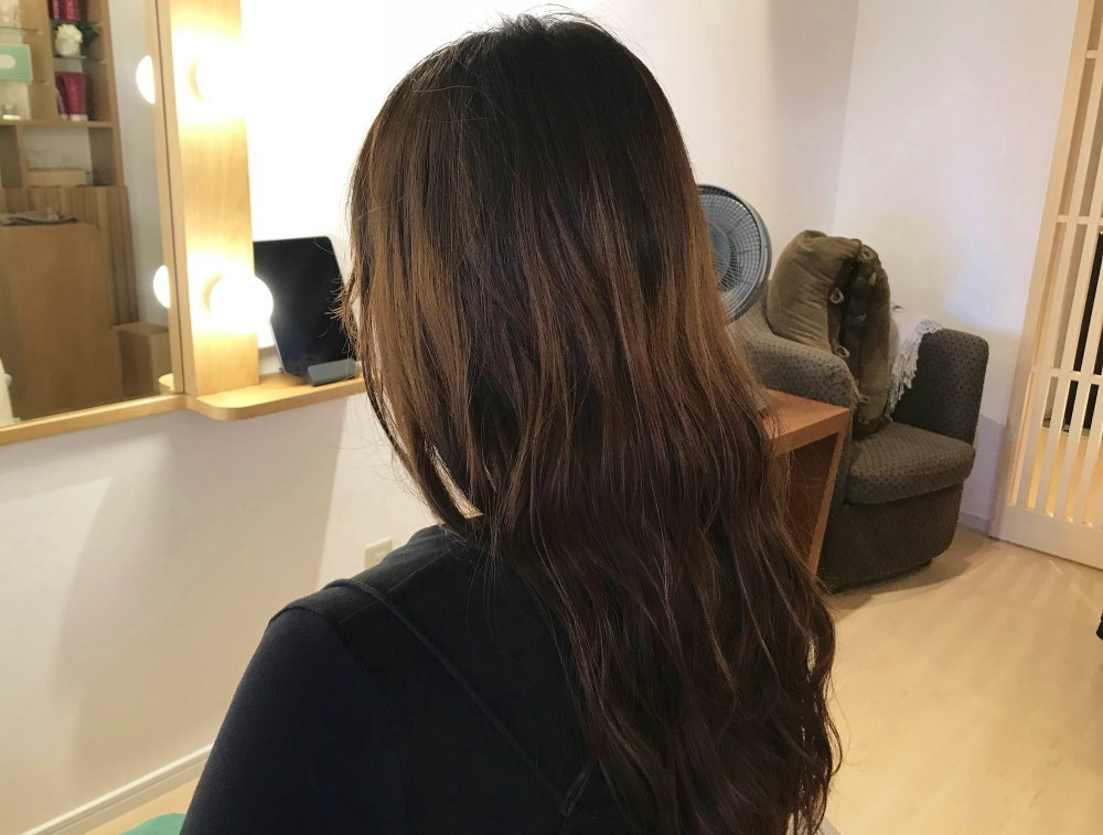 美髪サロン ビフォア