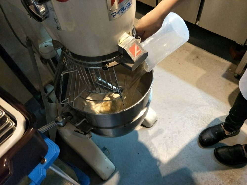バインミーパン製作