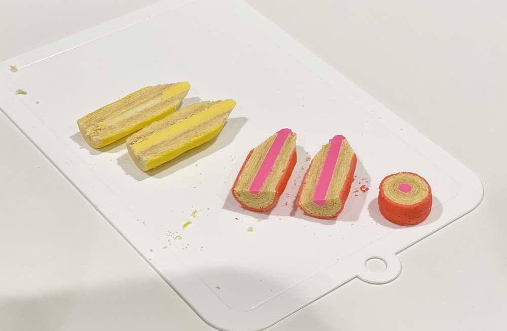 メルヘン日進堂(石川)  お菓子な彩えんぴつミニ(4本入) 2,160円