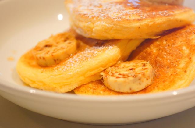 リコッタチーズ パンケーキ 赤レンガ倉庫