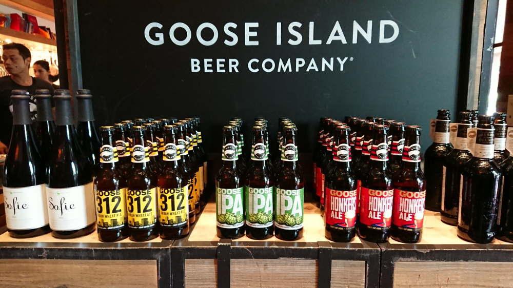 シカゴ発の人気クラフトビール「グースアイランド」