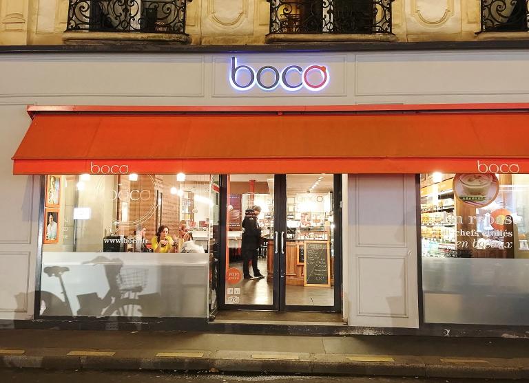 パリ おすすめランチ boco