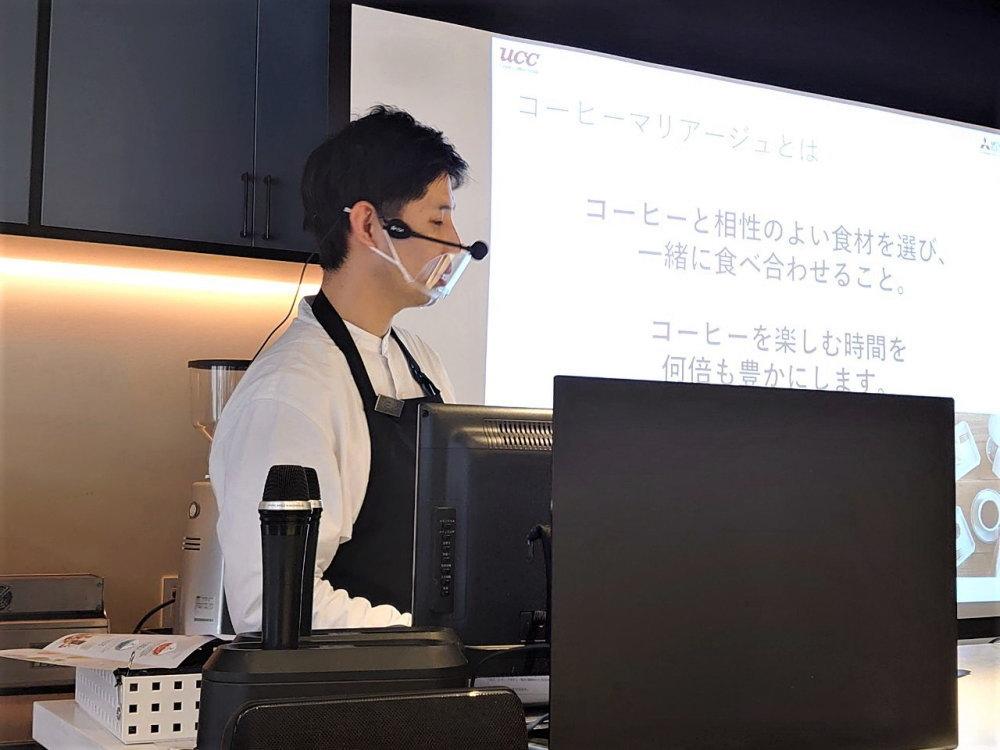 コーヒー鑑定士 土井さん