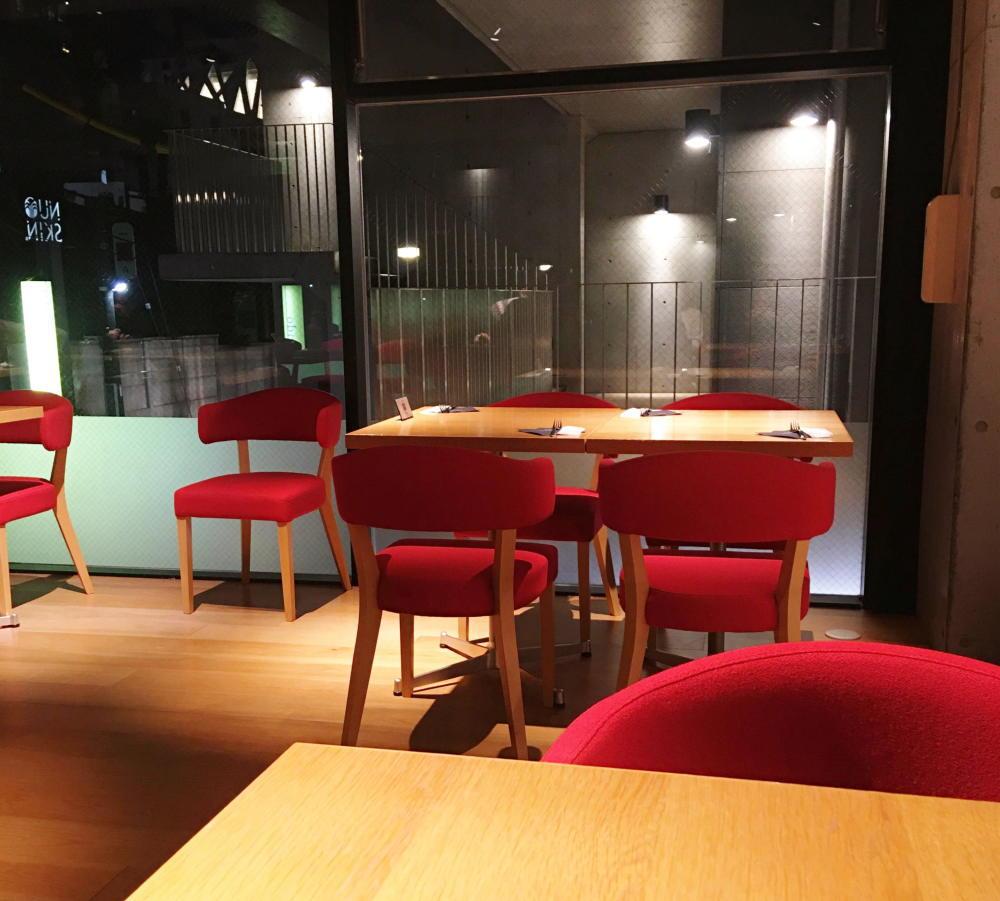 ブボバルセロナ カフェの様子
