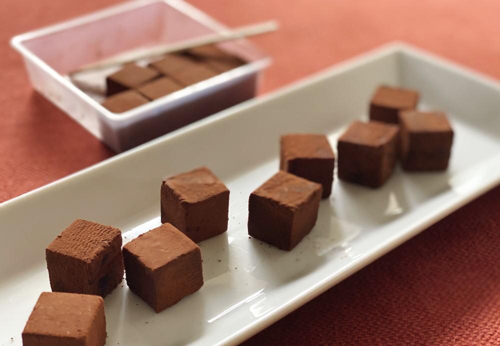 cacaoの生チョコ