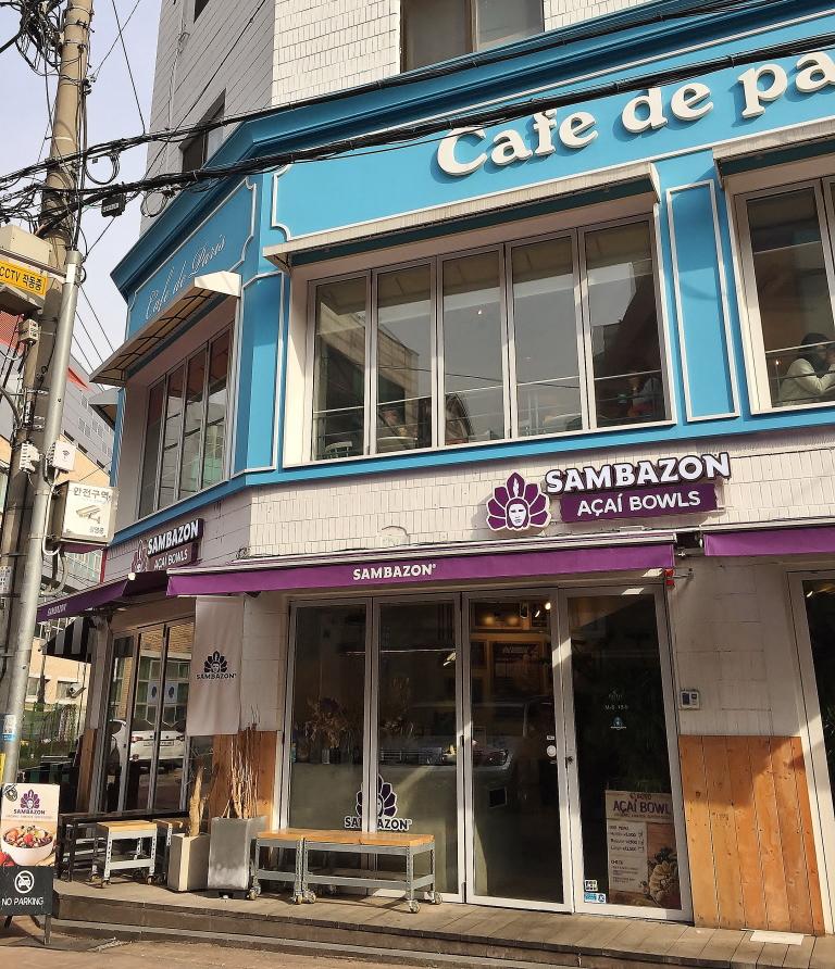 韓国 カロスキル カフェドパリ 場所