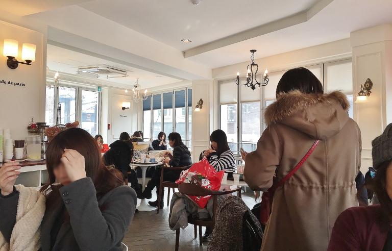 韓国 カロスキル カフェドパリ ブログ 口コミ