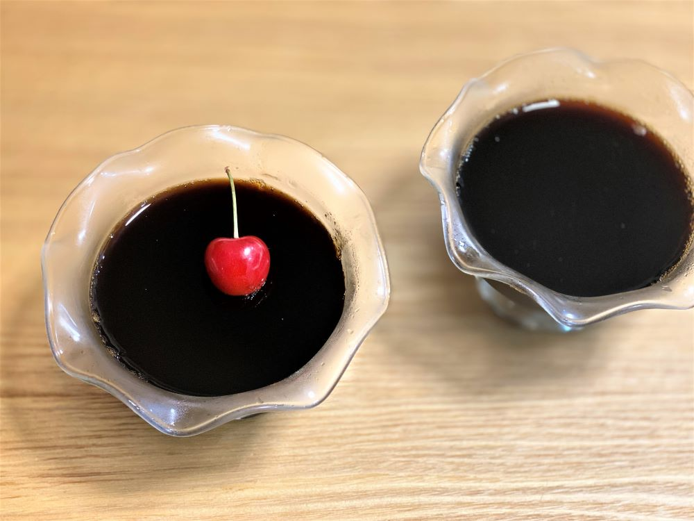 サントリーのカフェベースでコーヒーゼリーを作る ゼラチンの使い方