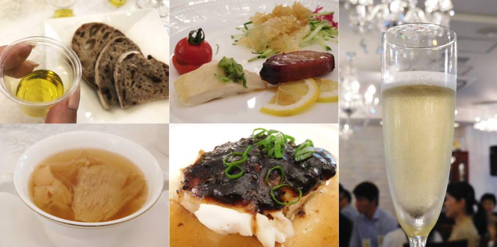 銀座 飛雁閣の料理