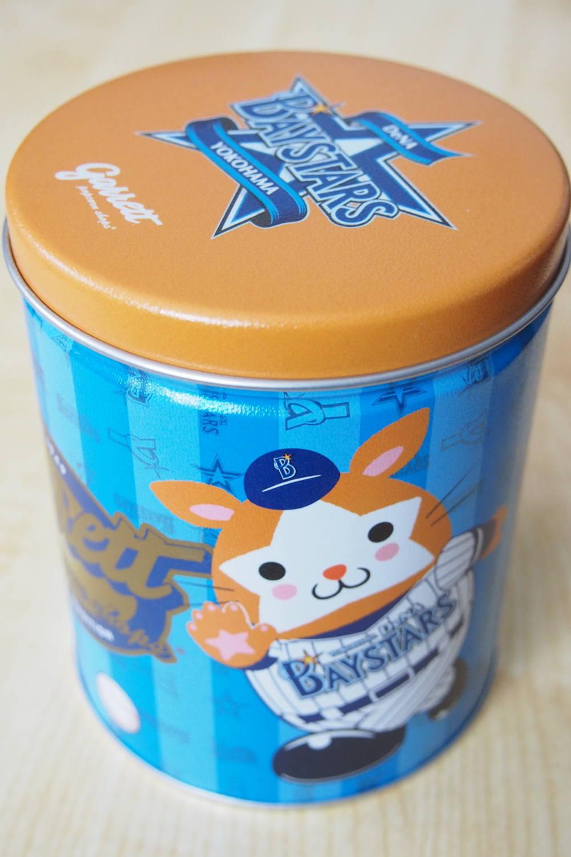 ギャレット 横浜ベイスターズ缶
