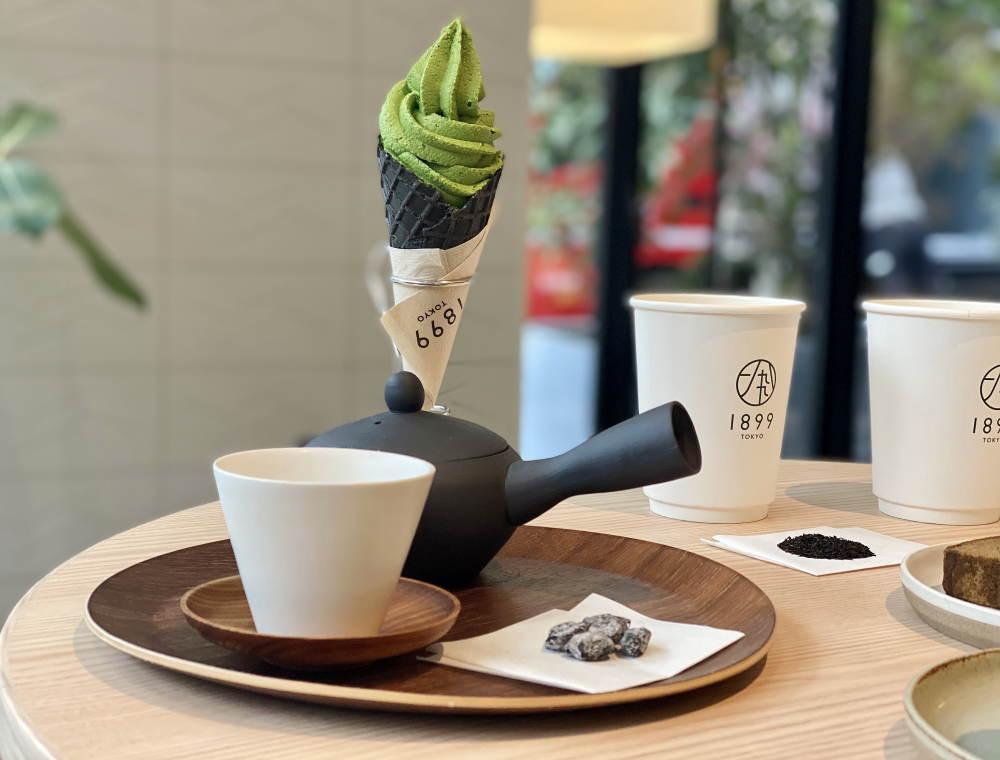 チャヤ1899 抹茶ソフトクリーム