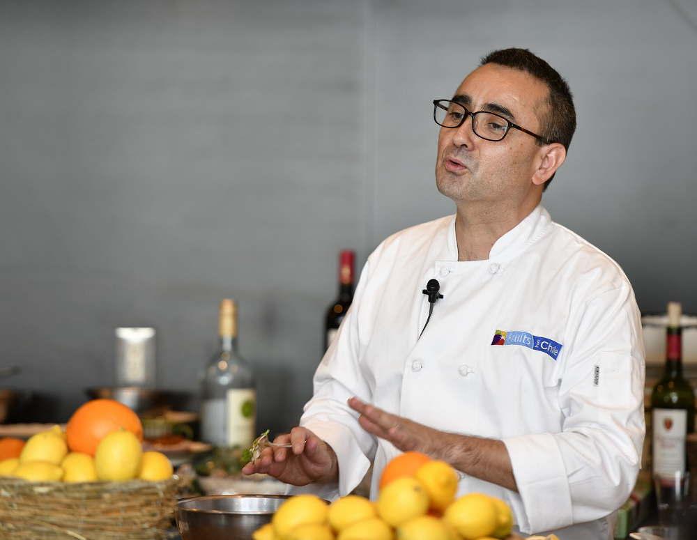 リカルド ゴンザレス氏(55 Gourmet代表)