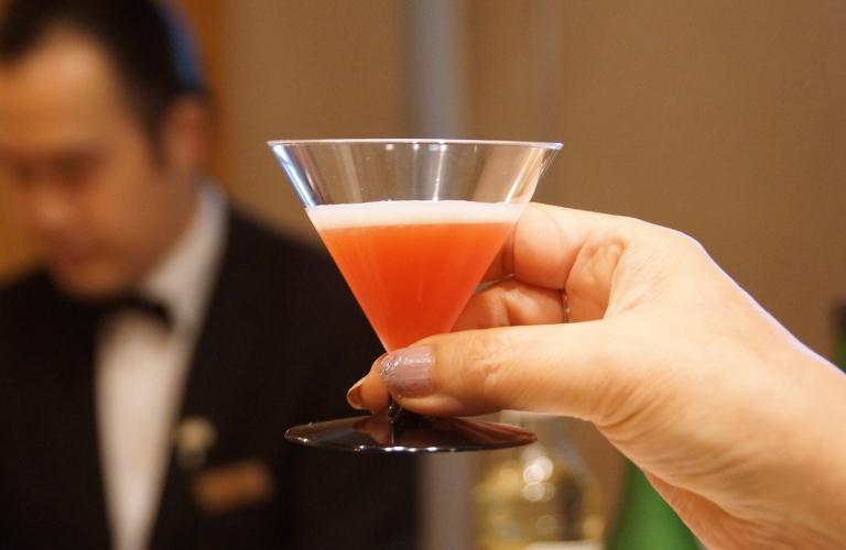 梅酒カクテルレシピ ブラッドオレンジジュース アマレット