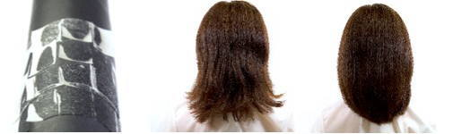 髪の毛 ビフォアアフター