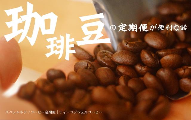 珈琲豆 定期便