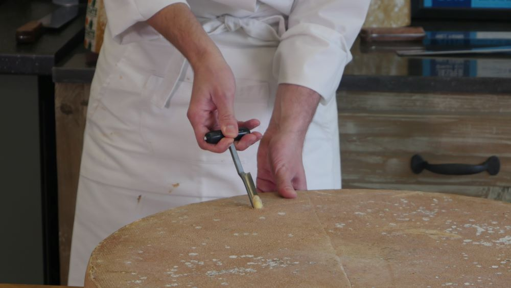 コンテチーズの切り方