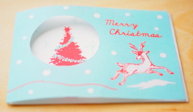 手作りクリスマスカード 印刷