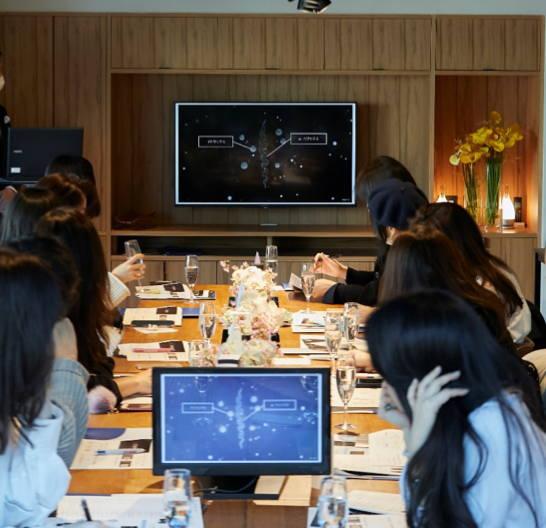 アリミノ コアミーの新商品発表会