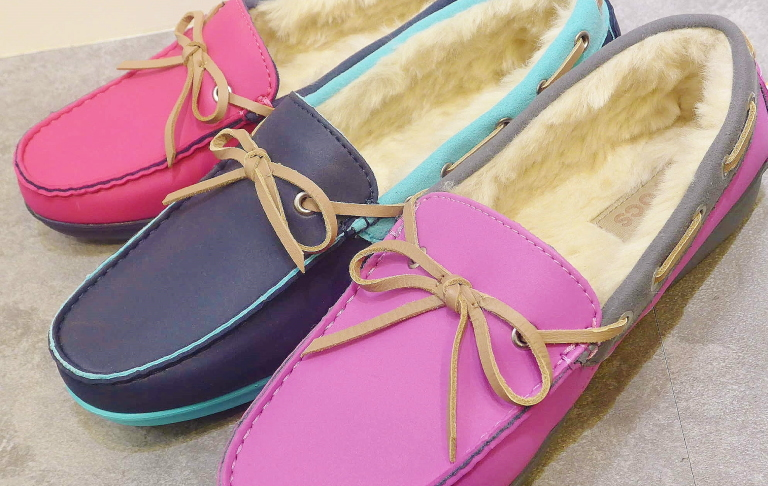 wrap colorLite lines loafer w