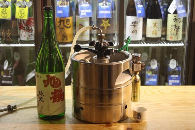 日本酒生樽サーバー