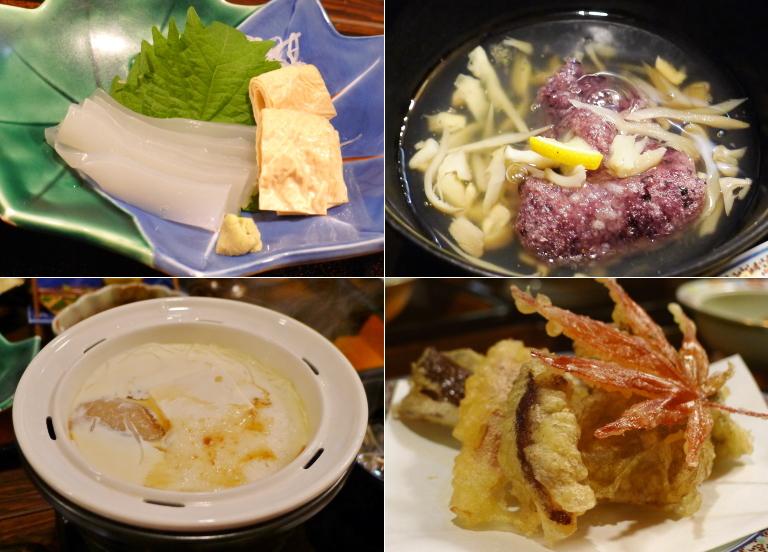 山楽荘 精進料理