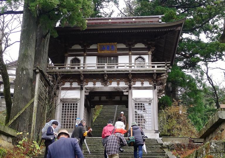 大山寺入り口 参道
