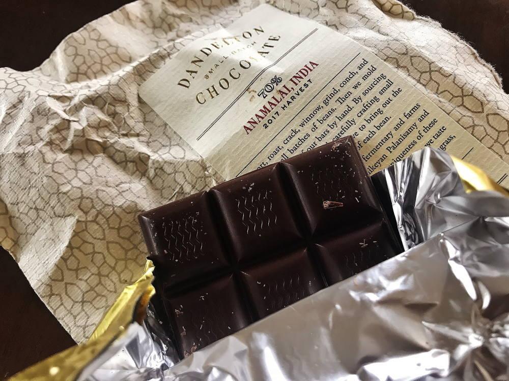 ダンデライオン・チョコレート 板チョコの種類