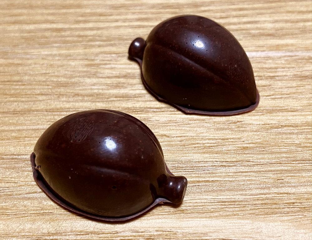 ダリケーで作ったチョコ