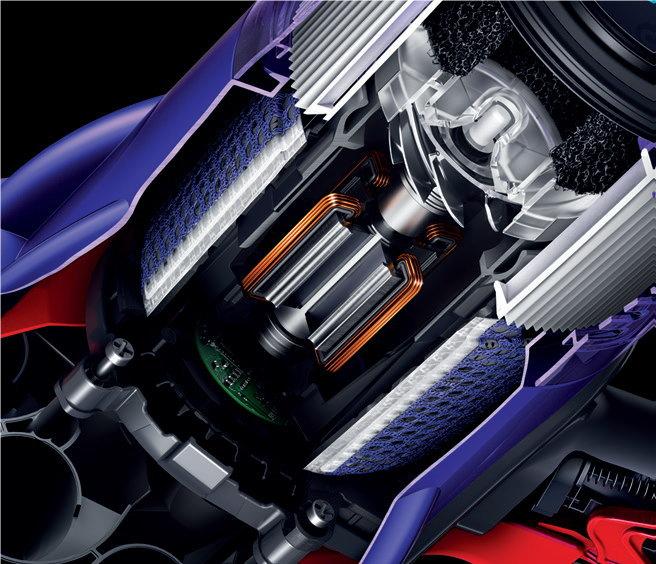 Dyson Hyperdymium™モーター
