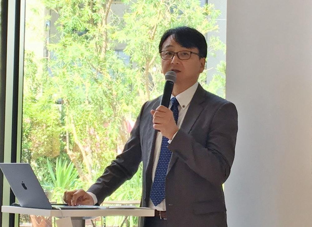 医学博士でもあるエトヴォス開発担当 高岡幸二先生