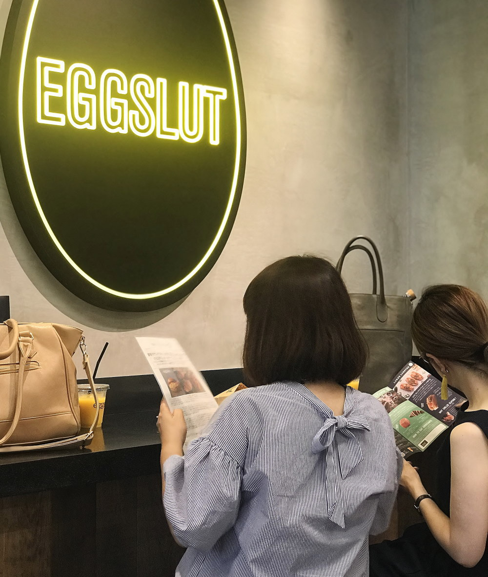 eggslut(エッグスラット)店内の様子