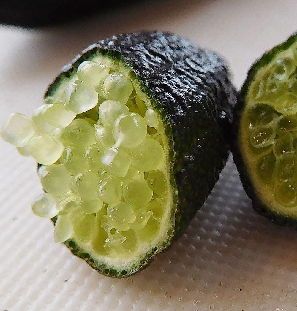 Finger Lime(フィンガーライム) 中身