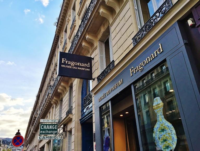 フラゴナール 香水博物館
