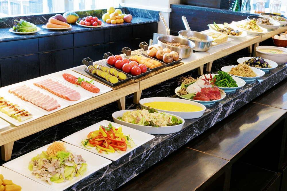 和食店「花ごよみ東京」_朝食ビュッフェ