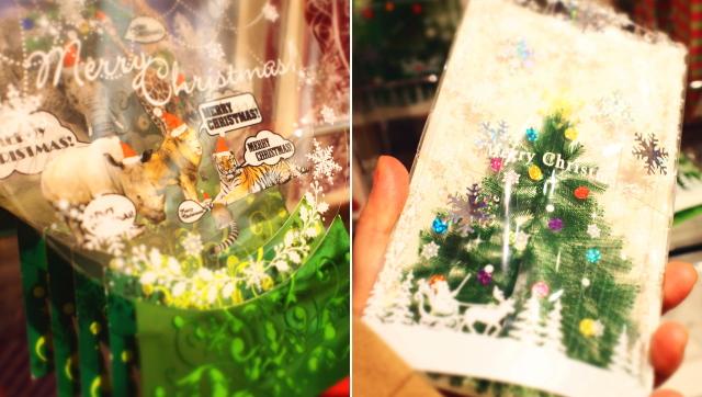 フランフラン クリスマスカード 通販