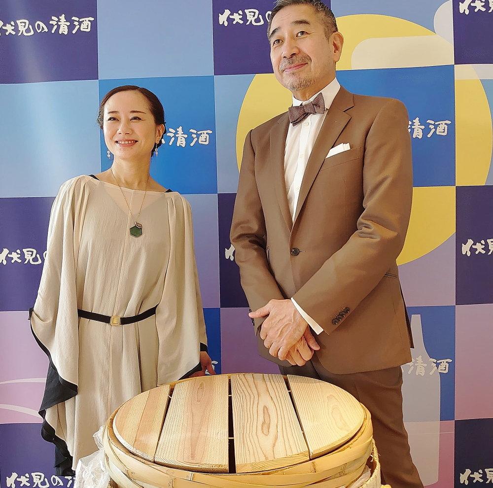 「京都伏見SAKEスタンド」オープニングレセプション