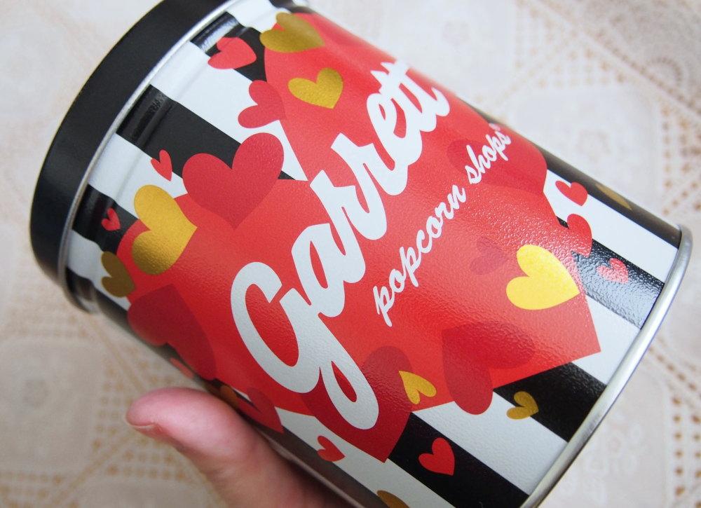 Garrett バレンタイン缶