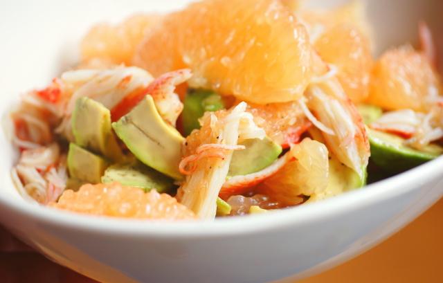 グレープフルーツ サラダ 簡単 レシピ