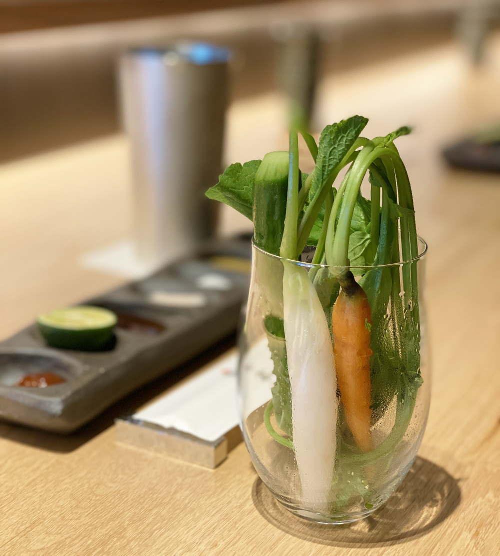 串亭銀座 野菜スティック