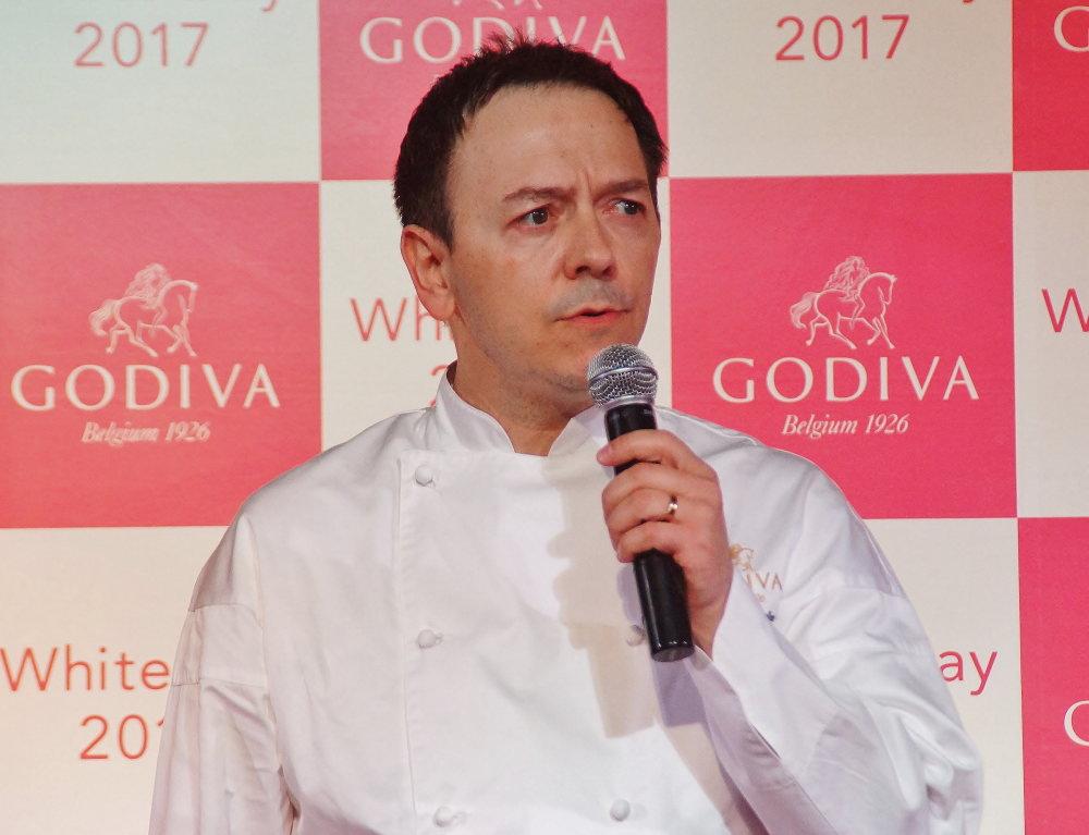 ゴディバ ジャパン シェフ ショコラティエ ヤニック・シュヴォロー