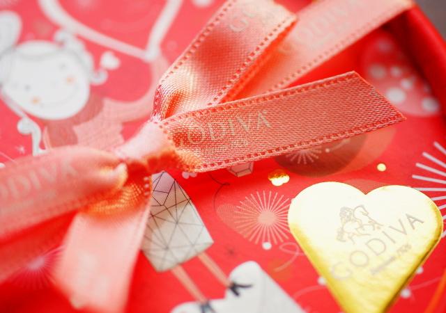 ゴディバ バレンタイン パッケージ