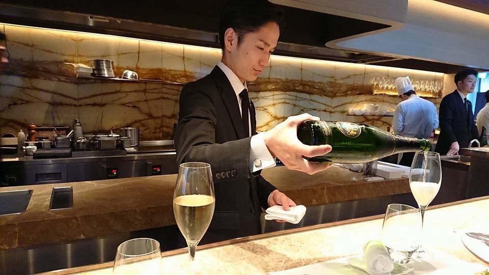 Jean-Georges Tokyo シャンパン
