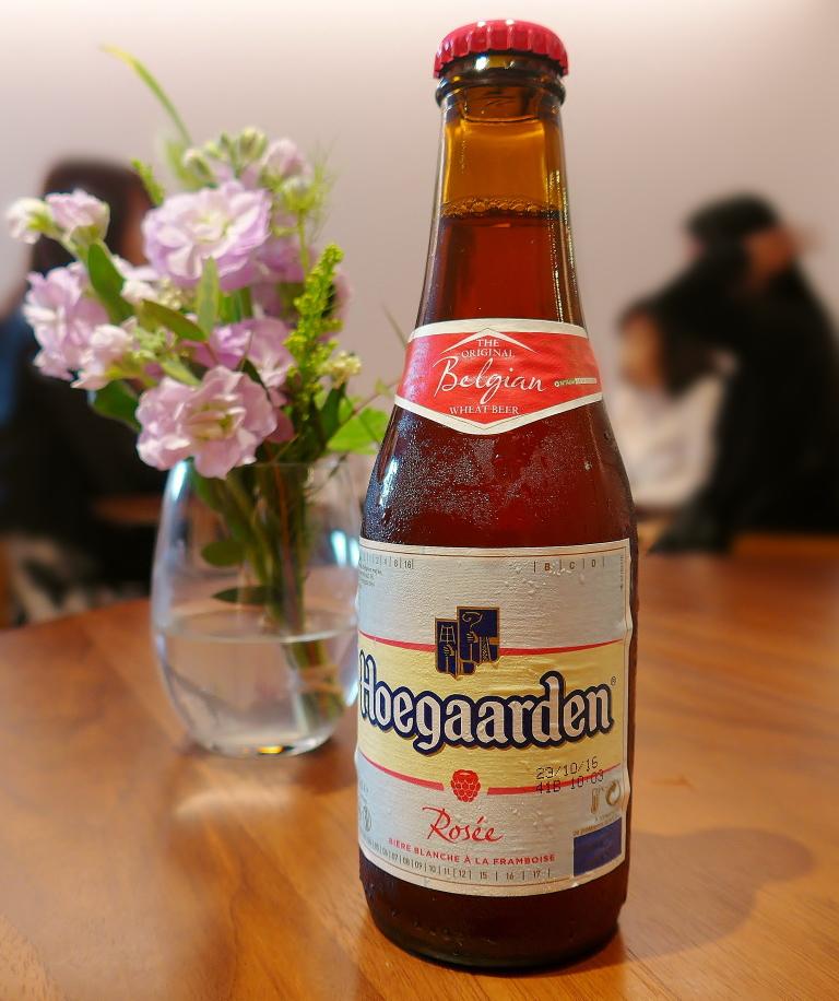ヒューガルテン ロゼ ビール 飲める店