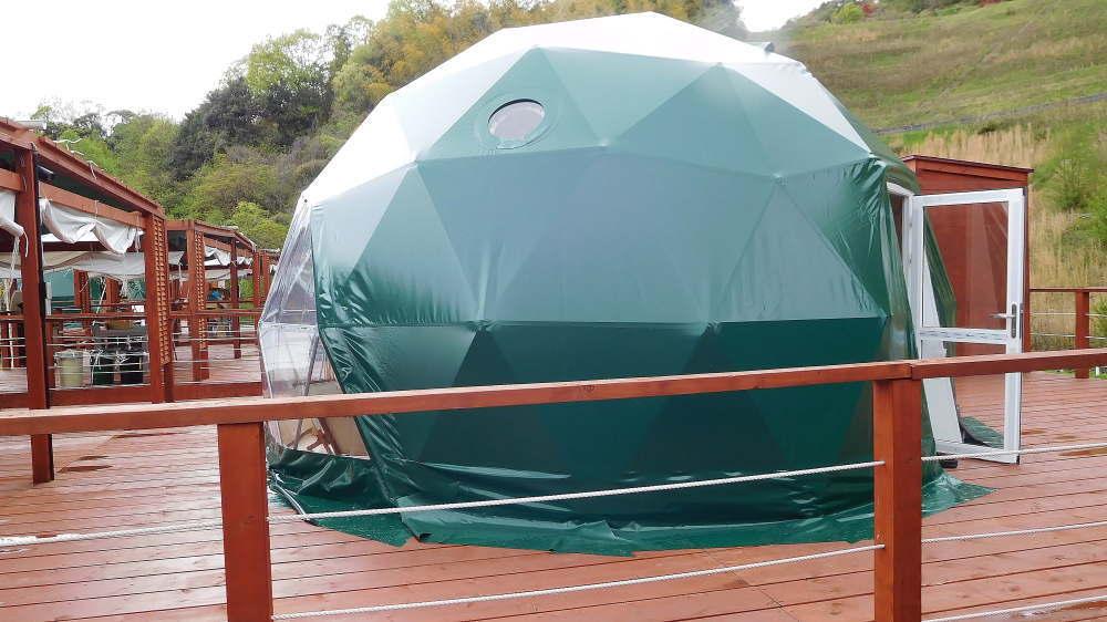 グリーンドーム京都天橋立 テントの様子
