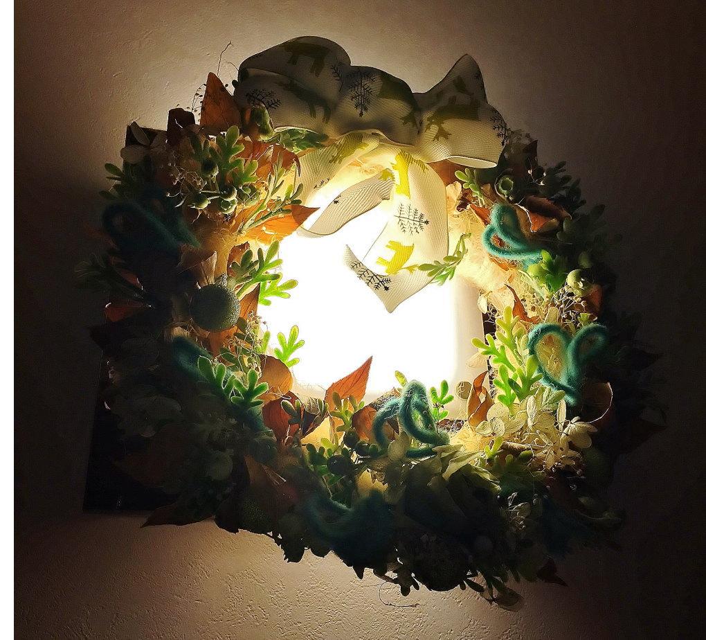 日比谷花壇クリスマスリース
