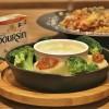 カルディ限定「ブルサン」「温野菜のブルサンフォンデュ風」